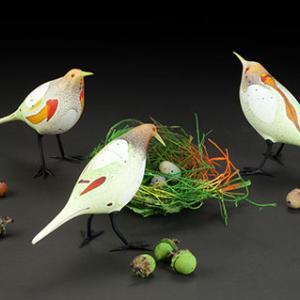 Birds, Flora & the Figure