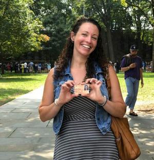 Jennifer Martin achieves goal at Princeton