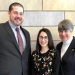 SCC student Karina Escobar addresses Senate Budget Committee
