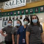 SCC alumni serving at vaccination clinics