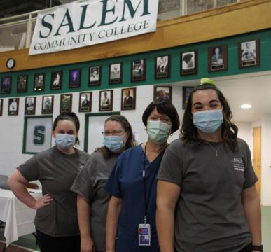 SCC alumni serving at vaccination clinics