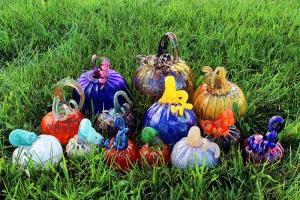 SCC Glass Pumpkins