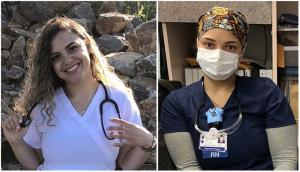 Sisters support each other in nursing careers