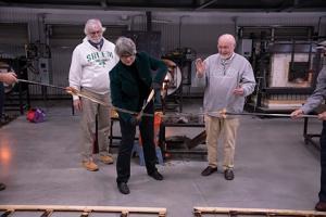 Salem Community College celebrates opening of Glass Education Center