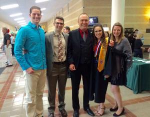 Michael D. Burbine named SCC's first professor emeritus