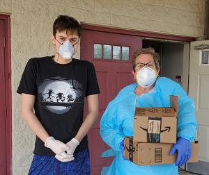 South Jersey Robotics making masks and shields for healthcare workers in three states